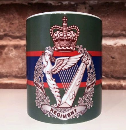 Royal Irish Regiment Badge Mug